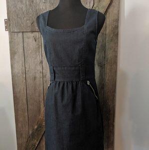 Ann Taylor Sleeveless Denim Dress